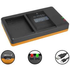 Dual-Ladegerät EN-EL14 für Nikon Coolpix P7000, P7100, P7700, P7800