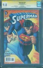 Superman 32 CGC SS 9.8 1st John Romita signed art Wraparound Cover Ozymandias