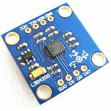 Neu L3G4200D 3 Axis Triple Axis Gyro Angular Velocity Sensor Modul für Arduino