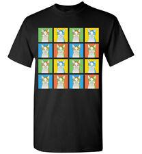 LaPerm Cat Cartoon Pop-Art T-Shirt Tee, Men Women's Youth Tank Short Long Sleeve