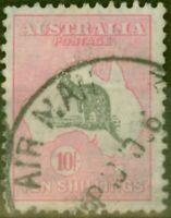 Australia 1932 10s Grey & Pink SG136 Good Used