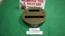Jeep Willys MB GPW WWII truck Guide Blackout tail light door Pass side G503