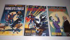 Superman Batman World's Finest #1 2 3 (Full 1990 Series) GN, Gibbons, Joker
