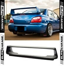 Subaru Impreza WRX - STI Style Spoiler + Brake Light (01-07) ABS Black