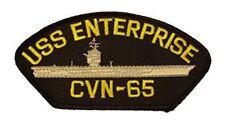 USS ENTERPRISE CVN-65 PATCH USN NAVY SHIP BIG E AIRCRAFT CARRIER NUCLEAR POWER