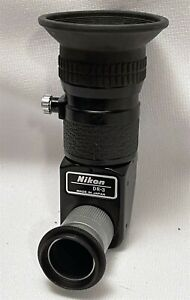 Nikon ~ DR-3 ~ Right Angle / 90 Deg. Viewfinder Attachment with DK-7 Adapter