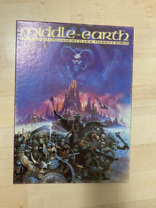 Lord of the Rings MERP Middle Earth Role Playing Game 1985 Games Workshop Unused