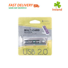 All in One USB Memory Card Reader Multi Card Adapter SD SDHC MMC TF MicroSD