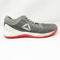 Reebok Womens Crossfit Nano 8.0 DV5815 Gray Running Shoes Lace Up Low Top Size 9