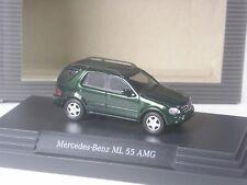 CLASSE: Busch Mercedes Benz ML 55 AMG grünmetallic dans neuf dans sa boîte