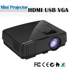 Neues AngebotTragbares LED HD Heimkino Videoprojektor Multimedia HDMI VGA-Handel TV Box Game