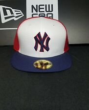 New York Yankees New Era 59Fifty Fitted MLB Hat/Cap Size 7-1/8