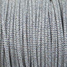 Denim \ BIANCHERIA MIX ROUND Twisted Intrecciato Tessuto Cavo MEX 0.5 mm Per Illuminazione