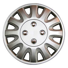 TopTech Motion 16 Inch Wheel Trim Set Silver Set of 4 Hub Caps Covers