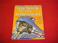 JEEP DANA 44 60 CHRYSLER DODGE PLYMOUTH DIFFERENTIALS REBUILD REAR AXLE BOOK AMC