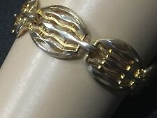 Stylish  Two Tone Gold Plated Bracelet, Vintage