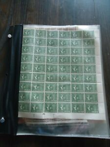 India stamps, few sheets in mint never hinged condition.