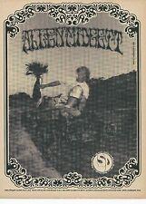 LSD Skateboards Allen Midgett anuncio de Thrasher Magazine 1990 a4 Cartel