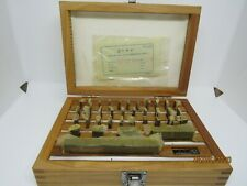 36pc Gage Block Set Sgb4900