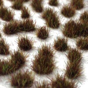 Burnt Grass Static Grass Tufts (2mm, 4mm, 6mm)