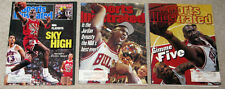 Michael Jordan Sports Illustraded Bulls Magazines Lot