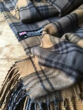 100% CASMERE SCARF MADE IN SCOTLAND NWOT