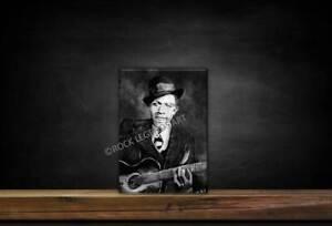 Robert Johnson Rock Legends Art Picture Wallplaque
