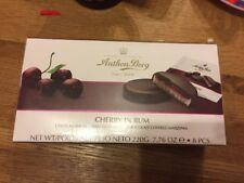 Anthon Berg Cherry In Rum Chocolate Covered Marzipan Chocolates 220g