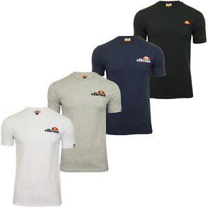 Ellesse Mens Chest Logo Crew neck T-Shirt 'VOODOO' - Short Sleeved