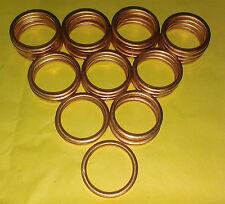 EXHAUST MANIFOLD GASKET RINGS TRX FOURTRAX XR400 XR500 XR600 XR650 TRX350   C0