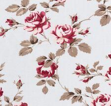 Tanya Whelan Petal Scattered Roses Blue Home Décor Cotton Fabric - V. Large FQ