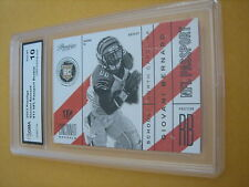 GIOVANI BERNARD BENGALS 2013 PRESTIGE NFL PASSPORT ROOKIE RC # 11 GRADED 10