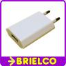 ALIMENTADOR CARGADOR USB CLAVIJA RED 220V SALIDA USB HEMBRA 5V1A 67X36MM BD10902