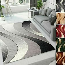 New TAPISO Modern Rugs Wave Pattern Small Extra Large Bedroom Living Room Rug