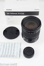 In scatola Sigma 24-105mm F4.0 OS HSM DG Art Lens-Nikon Fit-molto affilati