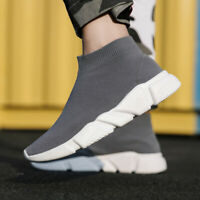 Men's Sneakers Walking Shoes Socks Shoes Running Lightweight Casual Sports Shoes