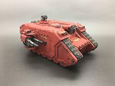 Warhammer 40,000 marines espaciales Adeptus Astartes Ángeles de sangre Land Raider Pintado