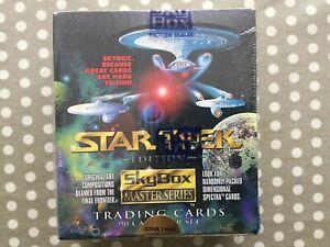 Star Trek Master Series Trading Card Packs - Factory Sealed 1993