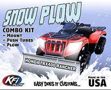 "Honda TRX400 Rancher - 2004-2007  KFI ATV 54"" Snow Plow Combo Kit"