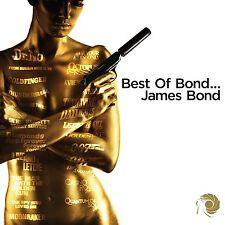 BEST OF BOND...JAMES BOND CD ALBUM - VARIOUS ARTISTS (October 23 2015)
