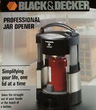 New Black & Decker Professional Jar Opener Brushed Stainless
