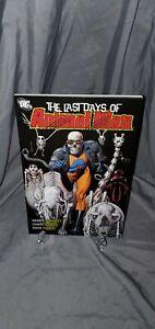 THE LAST DAYS OF ANIMAL MAN - Graphic Novel TPB - DC comics HTF