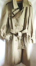BURBERRYS Made in England Trenchcoat Mantel Gürtel ca. 52/54 beige Nova Check