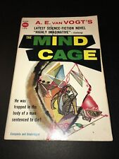 "A. E. Van Vogt ""THE MIND CAGE"" Avon T-252, Good Condition, 1957, Free Shipping!"