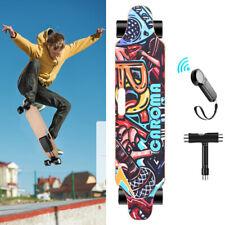 700W Elektrisch Elektro E-Skateboard Longboard mit Fernbedienung Doppelmotor TOP