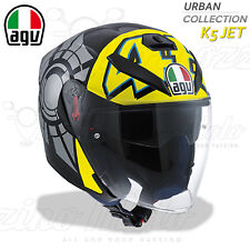 CASCO MOTO/SCOOTER AGV K5 K-5 JET TOP REPLICA VALENTINO ROSSI WINTER TEST 2012