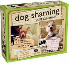 Dog Shaming 2018 Day-To-Day Calendar by dogshaming.com and Pascale Lemire (2017)