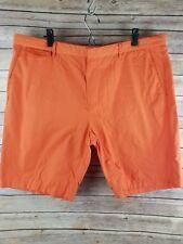 Mens Calvin Klein Shorts Size 40 Orange Sheen Nylon Golf
