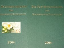 BRD GERMANY 2004 Jahrgang Postwertzeichen Complete Year Set incl. S/S MNH Folder