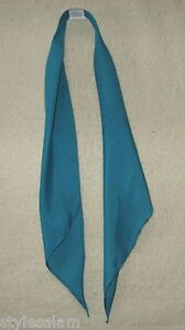 Scarf tie western square dance apache tie turquoise NEW cowboy DJ rodeo wedding